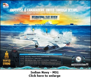 Indian Navy print ad