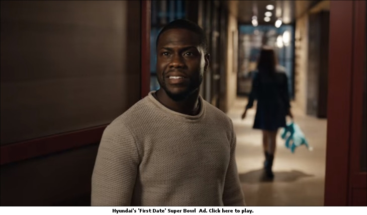Hyundai's 'First Date' Super Bowl Ad