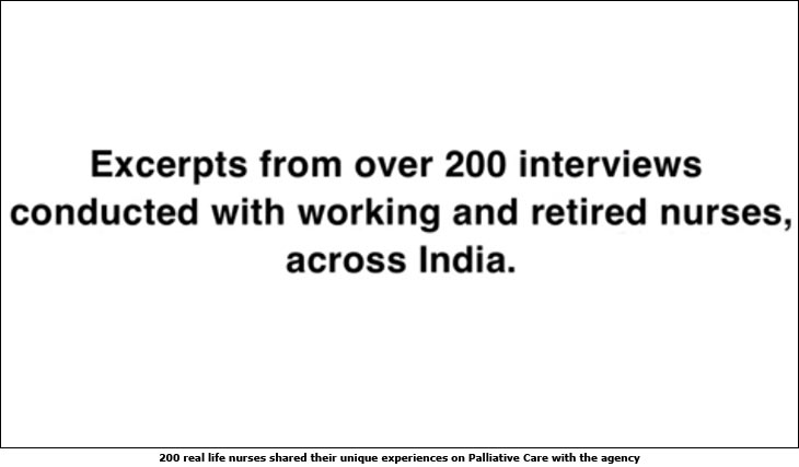 Indian Association of Palliative care's Last Words campaign