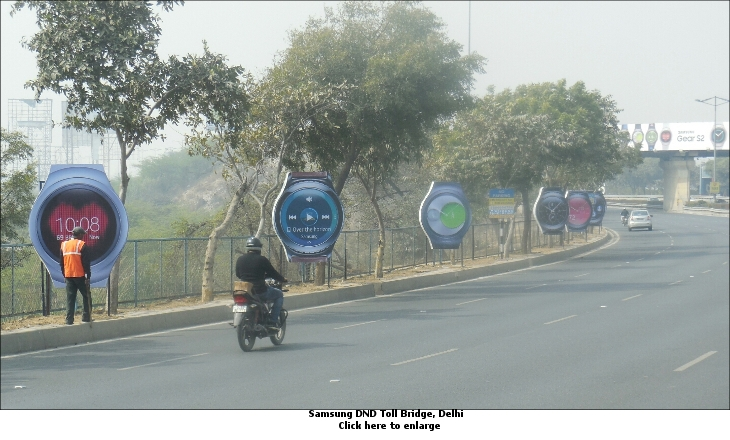 Samsung DND Toll Bridge, Delhi