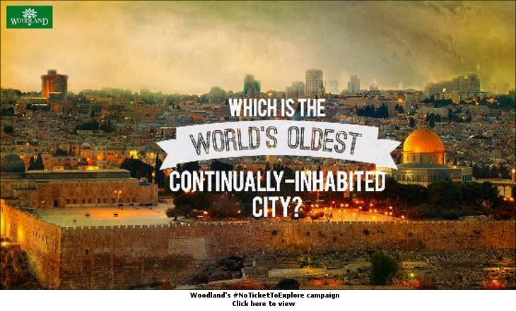 Woodland's #NoTicketToExplore campaign