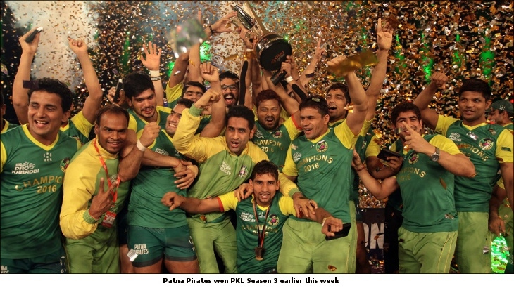 Patna Pirates won PKL3