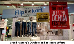 Brand Factory's Outdoor and In store Efforts 4