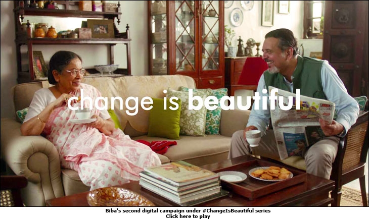 Biba's second digital campaign under #ChangeIsBeautiful series