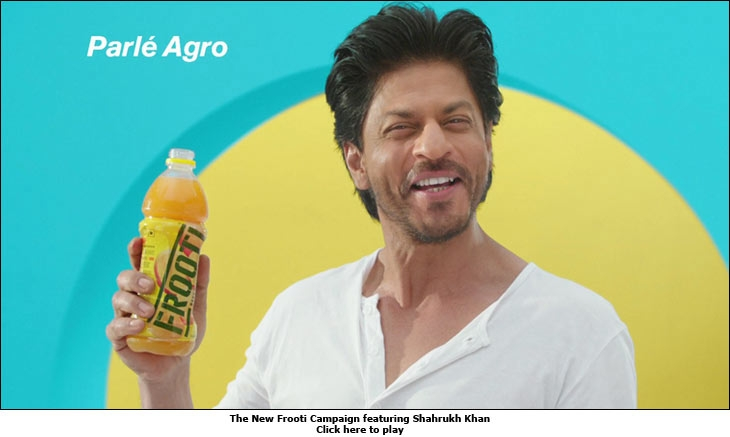 The New Frooti Campaign featuring Shahrukh Khan