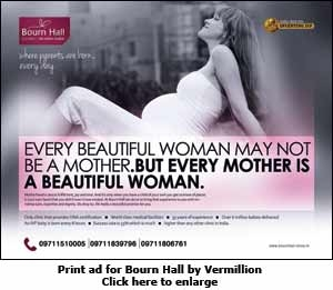 Print ad for Bourn Hall by Vermillion