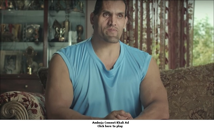 Ambuja Cement KHALI ad