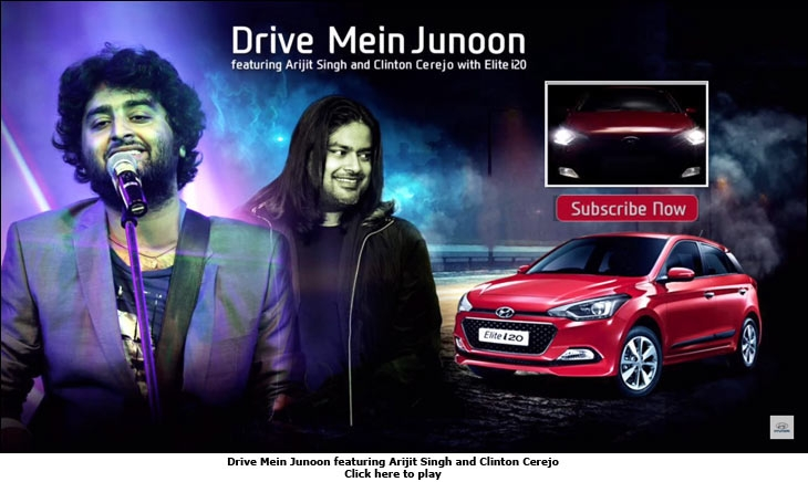 Drive Mein Junoon featuring Arijit Singh and Clinton Cerejo