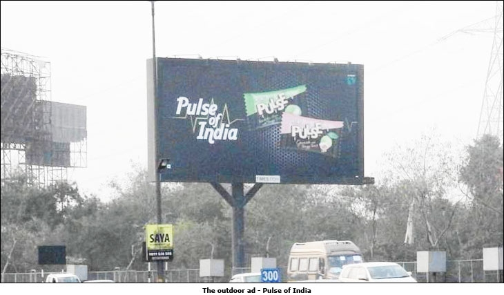 The outdoor ad - Pulse of India