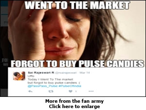 Pulse candy promotion