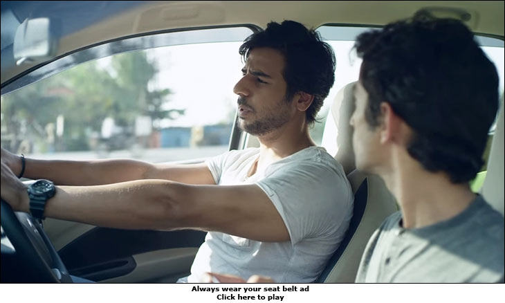 Maruti Suzuki's road safety campaign