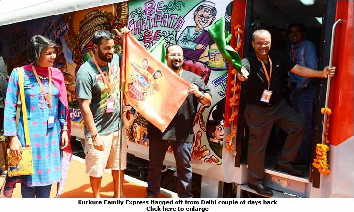 Kurkure Family Express flagged off from Delhi couple of days back