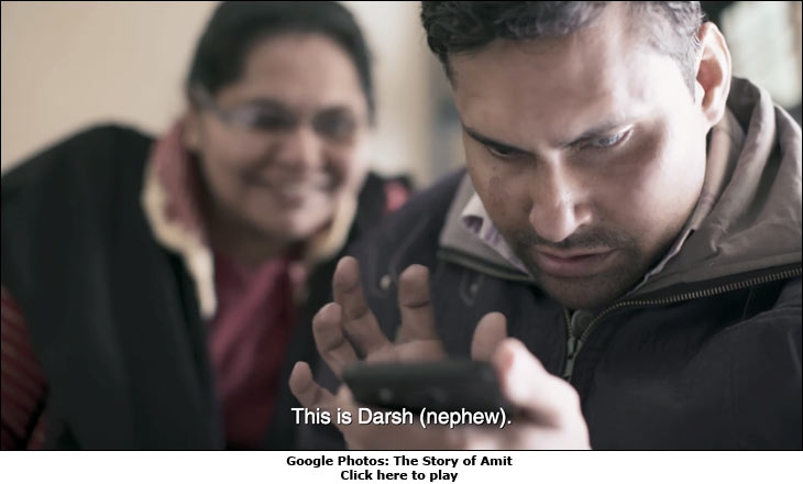 Google Photos: The Story of Amit