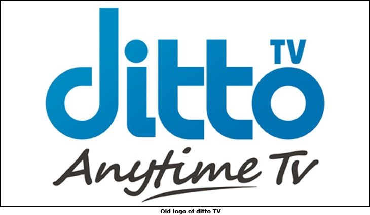 Old logo of ditto TV