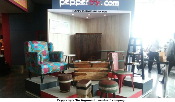 Pepperfry's 'No Argument Furniture' campaign