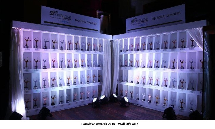 FoxGlove Awards 2016 Wall Of Fame