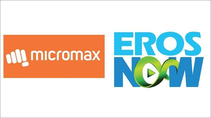 Eros Now and Micromax form strategic partnership