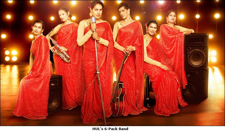 HUL's 6-Pack Band