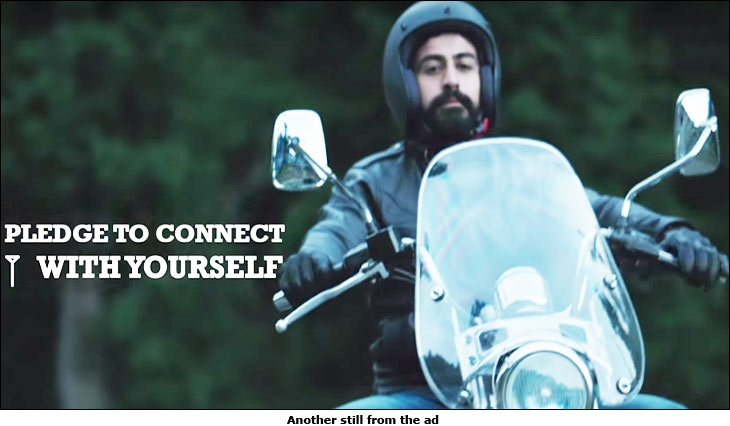 Bajaj Avenger 'Pledge to Connect' campaign