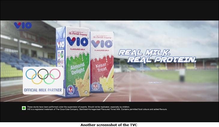 VIO's new TVC 'Run With It'
