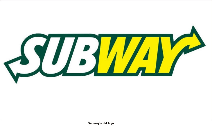 Subway old logo