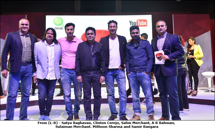 Qyuki launches Jammin', a musical collaboration with YouTube