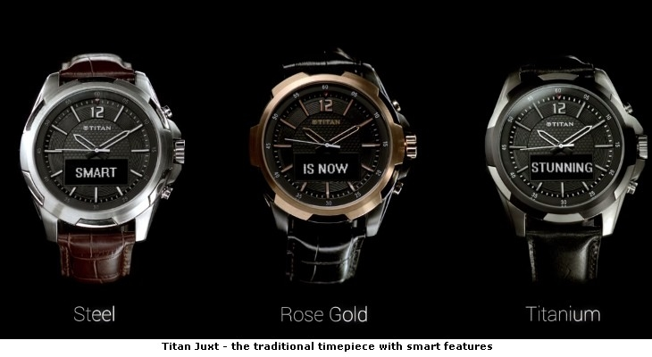 Titan Juxt - the traditional timepiece with smart features