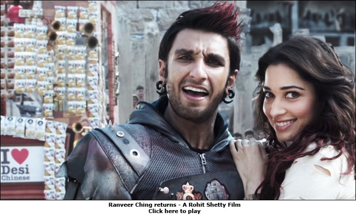 Ranveer Ching Returns - A Rohit Shetty Film