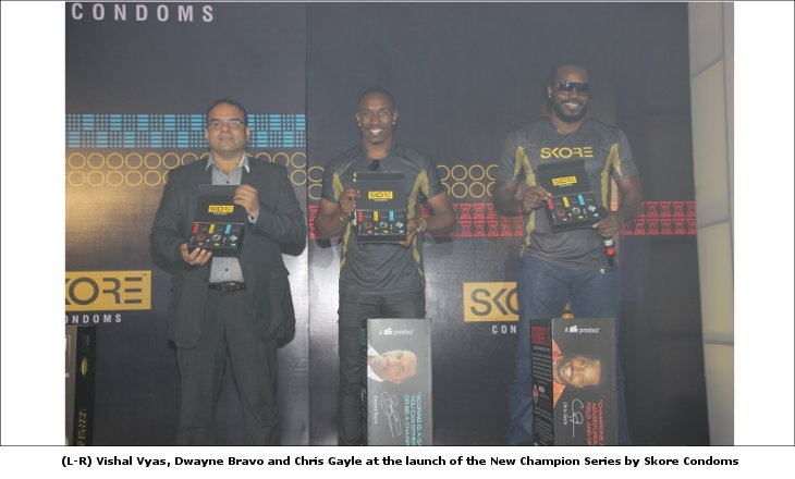 Launch of New Champion Series Skore Condoms