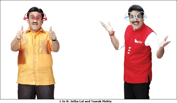 Jetha Lal and Taarak Mehta
