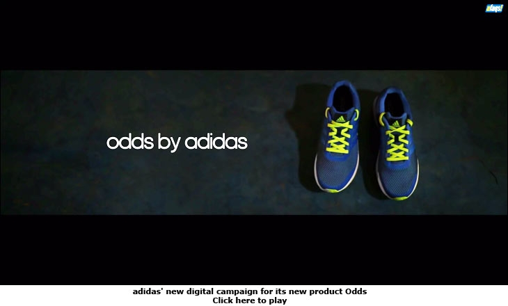 adidas' new digital campaign for its new product Odds