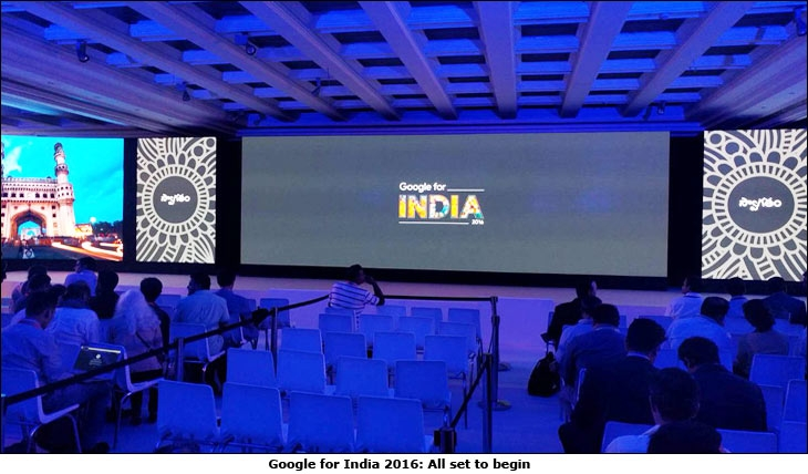 Google for India 2016: All set to begin