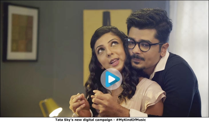 Tata Sky's new digital campaign - #MyKindOfMusic