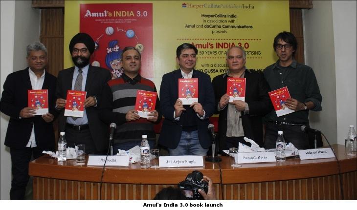 Amul's India 3.0 book launch