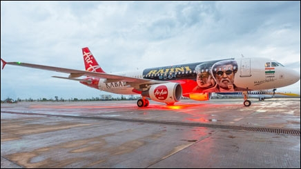 When Superstar Rajini-Kabali-kanth flew Air Asia