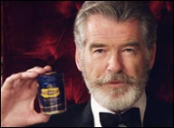 Has Pierce Brosnan asked Pan Bahar to withdraw ads...