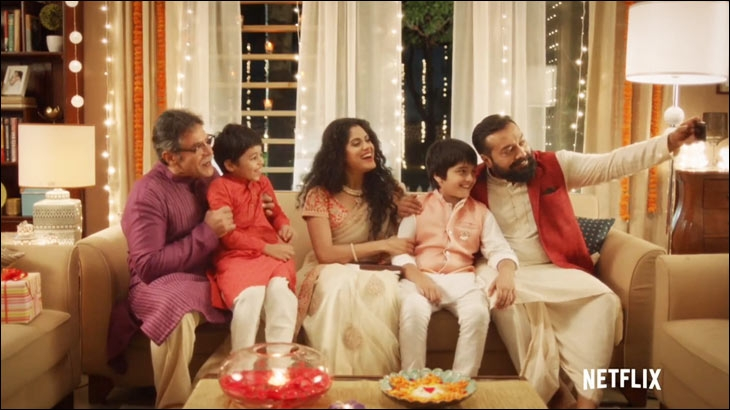 Netflix India and Anurag Kashyap mock the Great Indian Diwali Spot