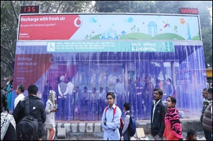 Vodafone helps Delhities breathe a sigh of relief
