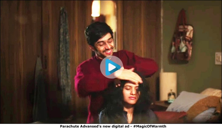 Parachute Advansed's new digital ad - #MagicOfWarmth