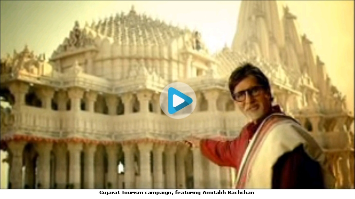 Gujarat Tourism campaign, featuring Amitabh Bachchan