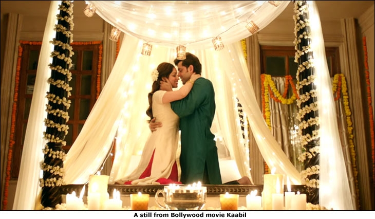 A still from Bollywood movie Kaabil
