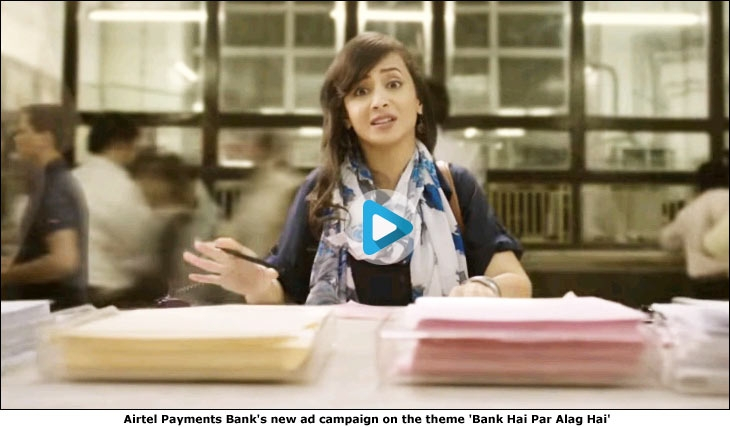 Airtel Payments Bank's new ad