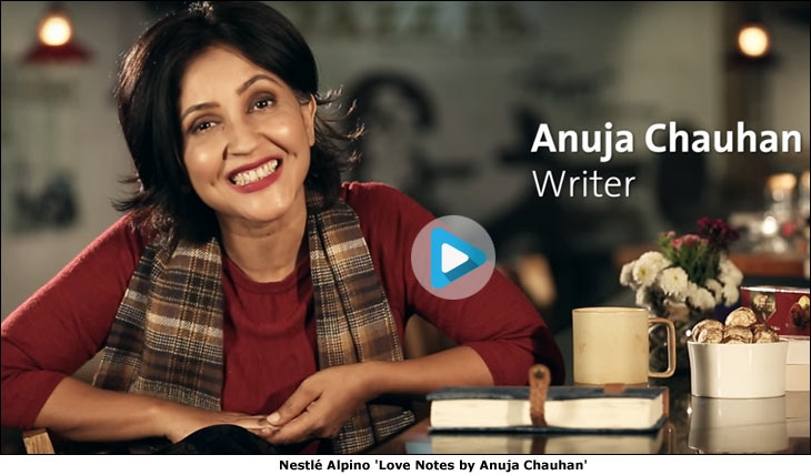 Nestle Alpino 'Love Notes by Anuja Chauhan'
