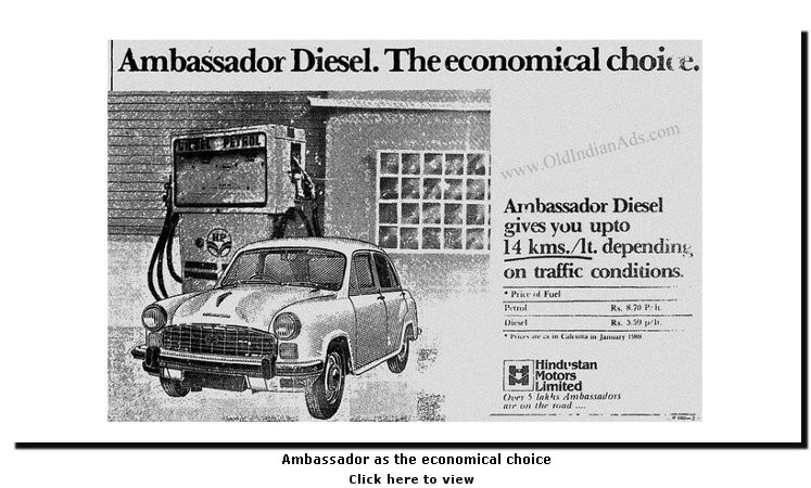 Ambassador as the economical choice