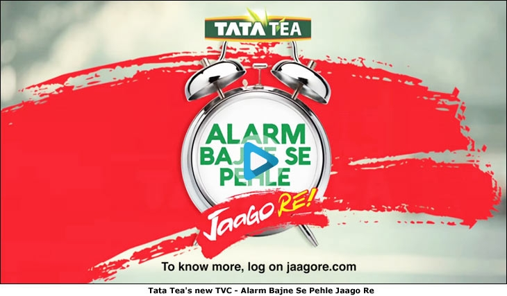 Tata Tea's new TVC - Alarm Bajne Se Pehle Jaago Re