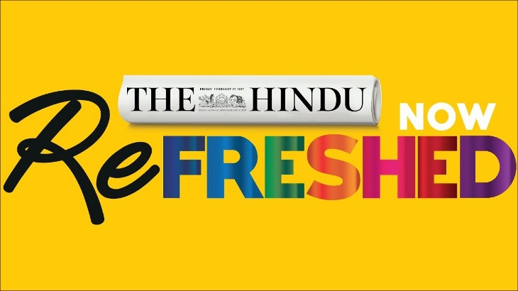 The Hindu refreshed