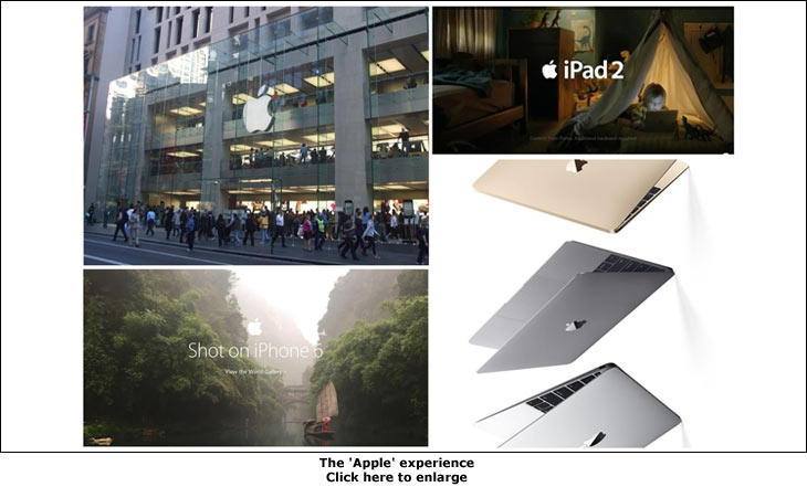 The 'Apple' experience
