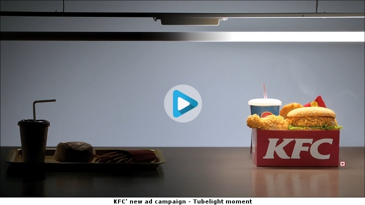 KFC' new ad campaign - Tubelight moment