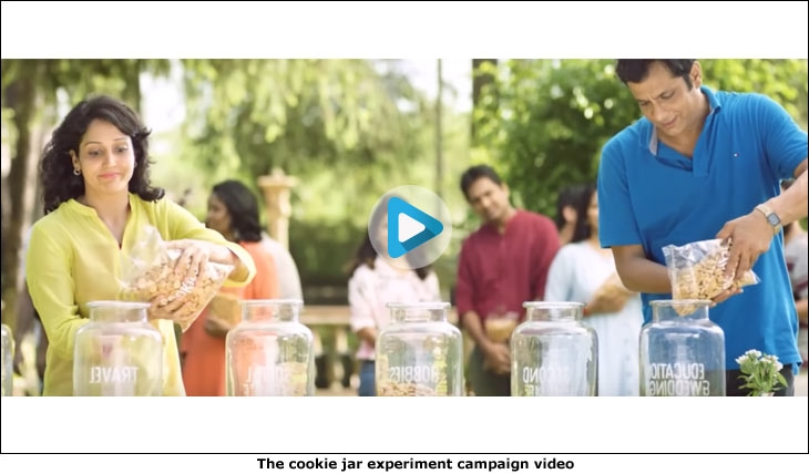 The cookie jar experiment campaign video