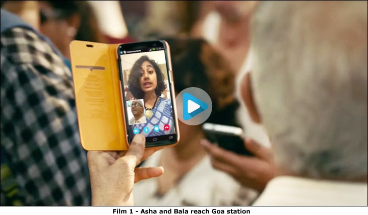 Film 1 - Asha and Bala reach Goa station
